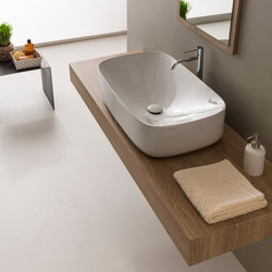 Moon | 70 H18 | Wash basins | Scarabeo Ceramiche