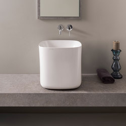 Moon | 42 H40 | Wash basins | Scarabeo Ceramiche