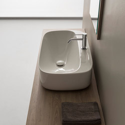 Moon | R H18 | Wash basins | Scarabeo Ceramiche
