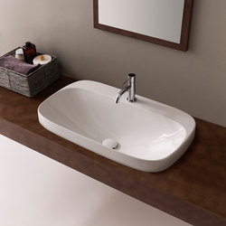 Moon | Wash basins | Scarabeo Ceramiche