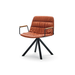 Maarten Lounge Chair | Poltrone | viccarbe
