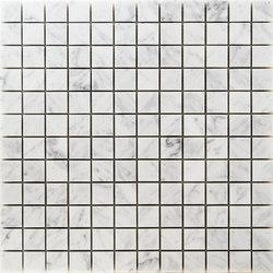 Pietre | Bianco Carrara 23x23 | Mosaïques | Mosaico+