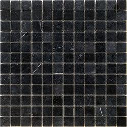 Pietre | Nero Belgio 23x23 | Natural stone mosaics | Mosaico+
