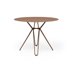 Tio Dining Table D100 | Canteen tables | Massproductions