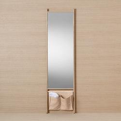 Mya | Tall mirror | Estanterías toallas | burgbad