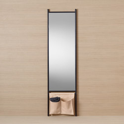 Mya | Tall mirror | Towel rails | burgbad