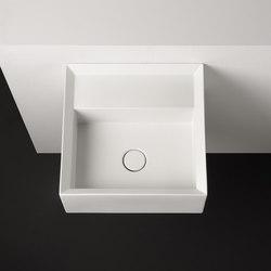 Cut Sink | 45 x 45 h20 | Lavabos | Valdama