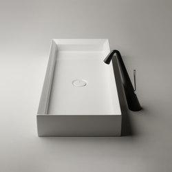 Cut Sink | 90 x 38 h12 | tutta vasca | Lavabos | Valdama