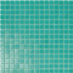 Tanticolori | Turchese 20x20 | Mosaïques verre | Mosaico+