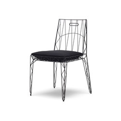 Nua chair | Restaurantstühle | Eponimo