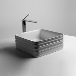 Trace Sink | 38 x 38 h15 | Wash basins | Valdama
