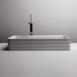 Trace Sink | 65 x 38 h12 | Wash basins | Valdama