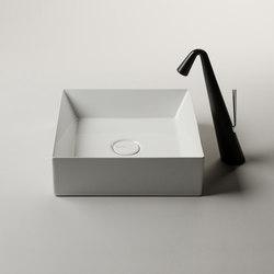 Track Sink | 38 x 38 h12 | Wash basins | Valdama