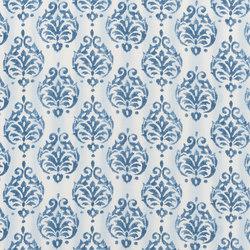 Rufolo Fabrics | Bellano - Indigo | Curtain fabrics | Designers Guild