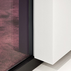 fecophon metal | Sound absorbing wall systems | Feco