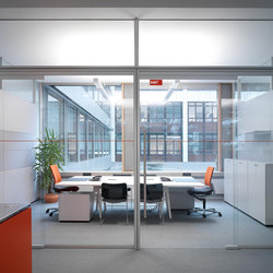 Fecot 220 R Glass Sliding Door St10 Internal Doors From Feco