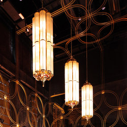 Monaco | Suspended lights | Art Deco Schneider