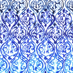 Majolica Prints | Arabesque – Cobalt | Curtain fabrics | Designers Guild