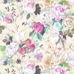 Majolica Prints | Palissy – Grande Camellia | Curtain fabrics | Designers Guild