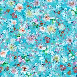 Majolica Prints | Avelli – Turquoise | Tessuti tende | Designers Guild