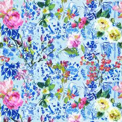 Majolica Prints   Majolica – Cornflower   Curtain fabrics   Designers Guild