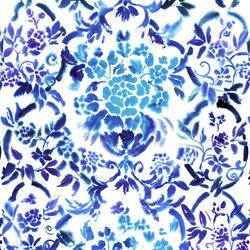 Majolica Prints | Cellini – Cobalt | Vorhangstoffe | Designers Guild