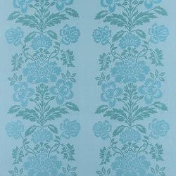 Majella Fabrics | Santicelli - Turquoise | Curtain fabrics | Designers Guild