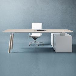 Woods | Individual desks | Fantoni