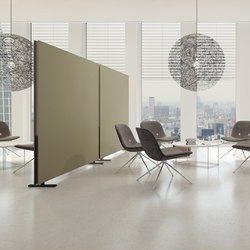 acoustic Partition Wall free standing | Freestanding panels | adeco