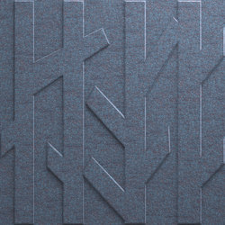 Deep Forest Blue Grey T-440S | Sound absorbing wall systems | Skandiform