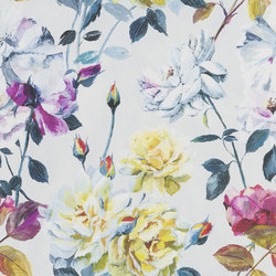 Jardin Des Plantes Wallpaper | Couture Rose - Fuchsia | Wall coverings / wallpapers | Designers Guild