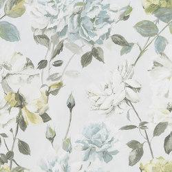 Jardin Des Plantes Wallpaper | Couture Rose - Duck Egg | Revestimientos de paredes / papeles pintados | Designers Guild