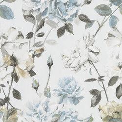 Jardin Des Plantes Wallpaper | Couture Rose - Graphite | Wandbeläge / Tapeten | Designers Guild
