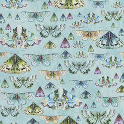 Jardin Des Plantes Wallpaper | Issoria - Jade | Wall coverings / wallpapers | Designers Guild