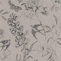 Jardin Des Plantes Wallpaper | Sibylla - Birch | Wall coverings / wallpapers | Designers Guild