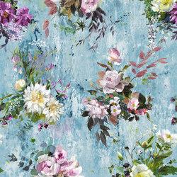 Jardin Des Plantes Wallpaper | Aubriet - Slate Blue | Wandbeläge / Tapeten | Designers Guild