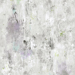 Jardin Des Plantes Wallpaper | Corneille - Amethyst | Wall coverings / wallpapers | Designers Guild