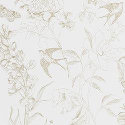 Jardin Des Plantes Wallpaper | Sibylla Garden - Gold | Wall coverings / wallpapers | Designers Guild