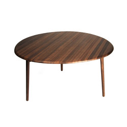 Riverstone | dining table walnut | Tables de repas | Wiinberg