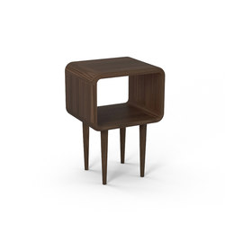 Teve | small - walnut | Night stands | Wiinberg