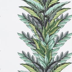 Au Thèâtre Ce Soir Wallpaper | Groussay – Vert Buis | Wall coverings / wallpapers | Designers Guild