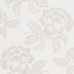 Majolica Wallpaper | Berettino – Ivory | Wall coverings / wallpapers | Designers Guild