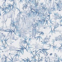 Au Thèâtre Ce Soir Wallpaper | Exotisme – Aube | Wall coverings / wallpapers | Designers Guild