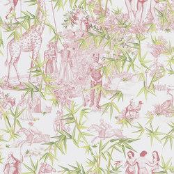 Au Thèâtre Ce Soir Wallpaper | Exotisme – Tomette | Wall coverings / wallpapers | Designers Guild