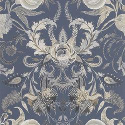 Au Thèâtre Ce Soir Wallpaper | Noailles - Graphite | Revestimientos de paredes / papeles pintados | Designers Guild
