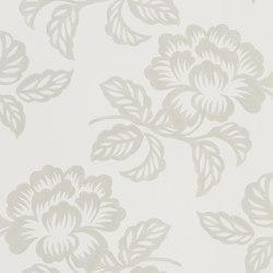 Majolica Wallpaper | Berettino - Ecru | Revestimientos de paredes / papeles pintados | Designers Guild