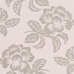 Majolica Wallpaper | Berettino - Tuberose | Wall coverings / wallpapers | Designers Guild