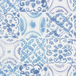 Majolica Wallpaper | Pesaro – Cobalt | Wall coverings / wallpapers | Designers Guild