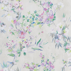 Majolica Wallpaper | Faience – Linen | Wall coverings / wallpapers | Designers Guild