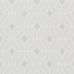 Majolica Wallpaper | Laterza - Ivory | Carta da parati / carta da parati | Designers Guild